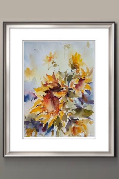 86. Floarea soarelui